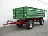 Traktorske prikolice Stetzl - Dvoosovinska trostrana prikolica DK-12 Agro –Trailer