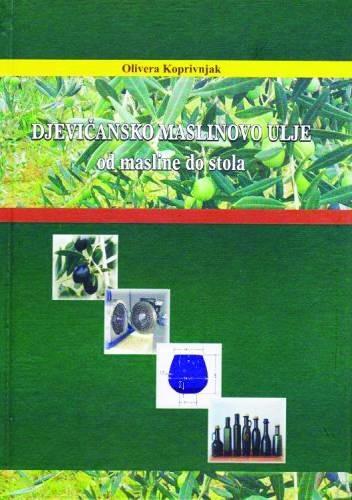 Djevičansko maslinovo ulje - knjiga