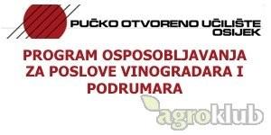 Program osposobljavanja za poslove vinogradara i podrumara