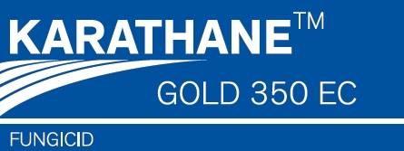 KARATHANE GOLD 350 EC – organski fungicid protiv pepelnice