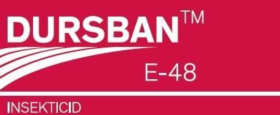 DURSBAN E-48 – insekticid protiv štetnika u ratarstvu i voćarstvu