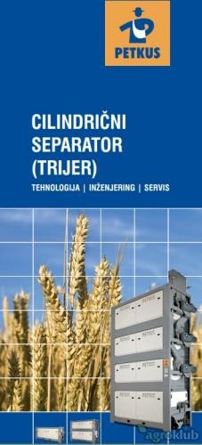 Stroj za sortiranje i odvajanje zrna