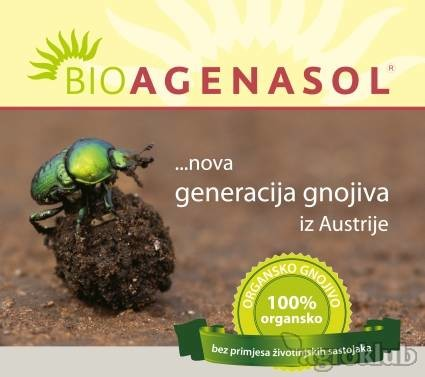 Organsko gnojivo Bioagenasol