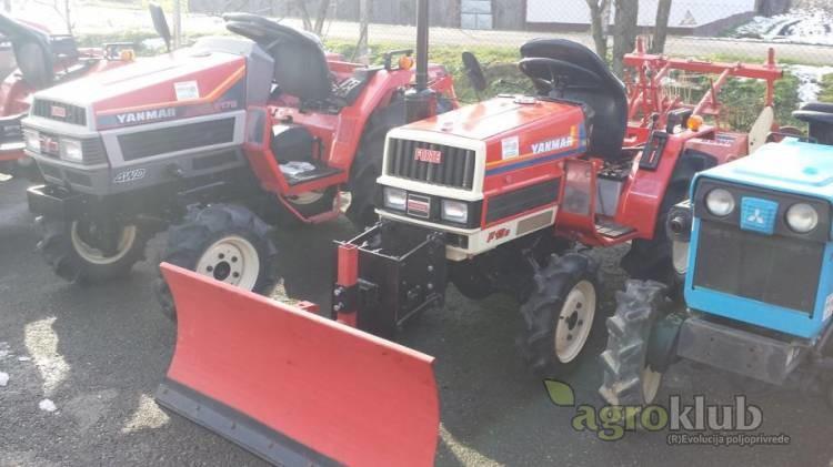 Traktor Yanmar F13 D s ralicom