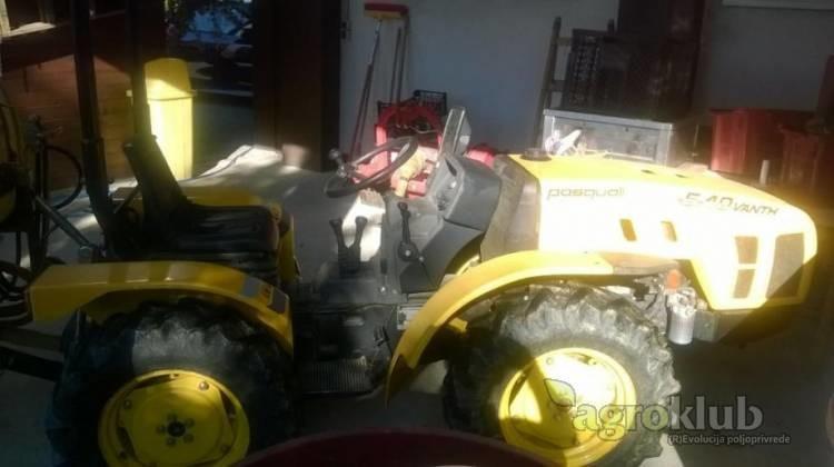Traktor Pasquali VANTH 6.40 RS