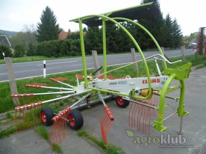 Claas Liner 450 - sakupljač sijena - AKCIJA!
