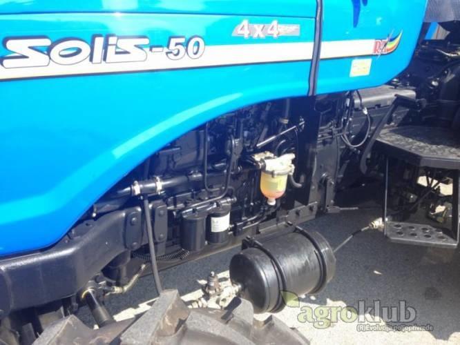 Solis 50 - Sonalika traktor