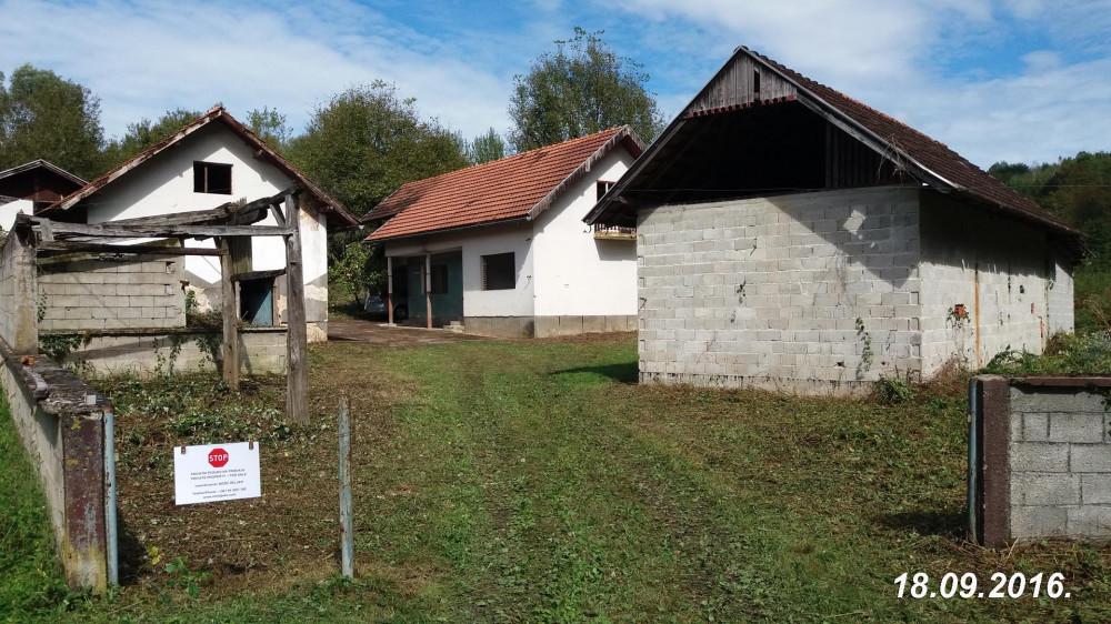 Zemlja-8.2ha, suma,selo Miholjsko, opcina Vojnic