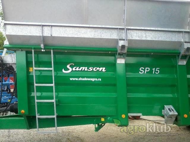 Samson razbacivač krutog gnoja SP15