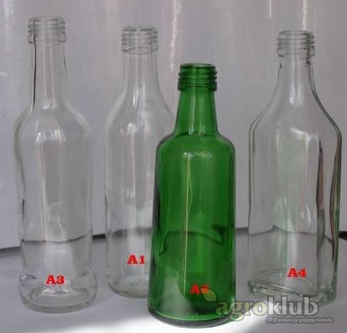Bočice za rakiju,ulje i dr 0,1 L