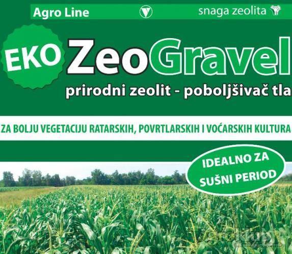 ZeoGravel - mineral zeolit poboljšivač tla