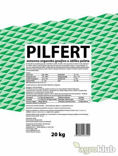 Pilfert peletirano pileće organsko gnojivo sa zeolitom