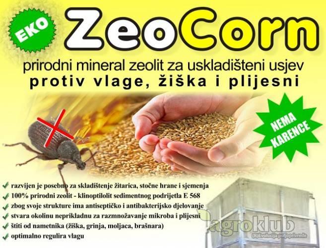 ZeoCorn zeolit za zaštitu skladištenog žita i kukuruza