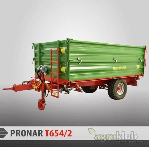Pronar T654/2 jednoosovinska prikolica