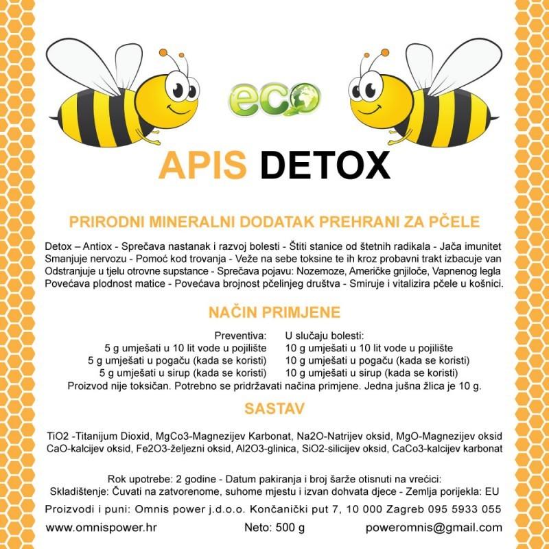 Apis Detox - Prirodni mineralni dodatak prehrani za pčele