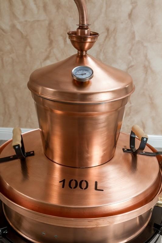 Kazan za rakiju 100 litara - TIP PREVRTAČ