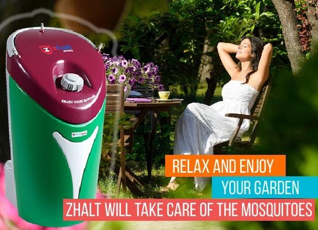 Zhalt - sustav za prskanje za eliminaciju komaraca na otvorenom