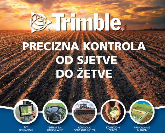 Trimble sustavi za preciznu poljoprivredu