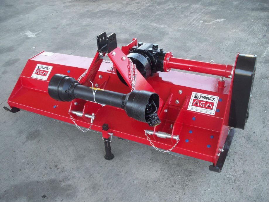 Malčer EFGC 125, Radni zahvat 125cm