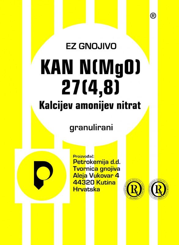 KAN N (MgO) 27 (4,8) - granulisani