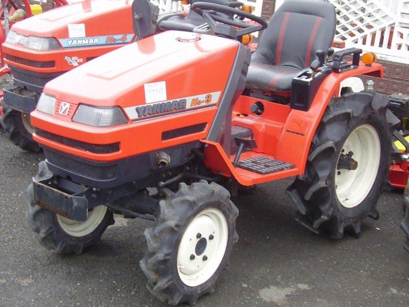 Traktor YANMAR Ke-3