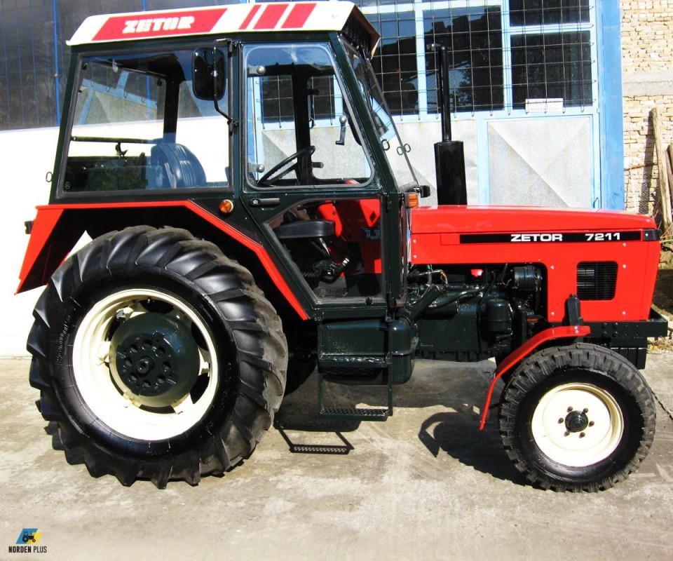 Traktor Zetor 7211 remontovan