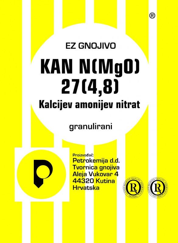 KAN N (MgO) 27 (4,8) - granulirani