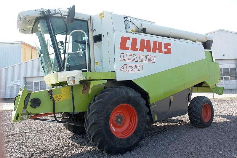 Kombajn Claas Lexion 430