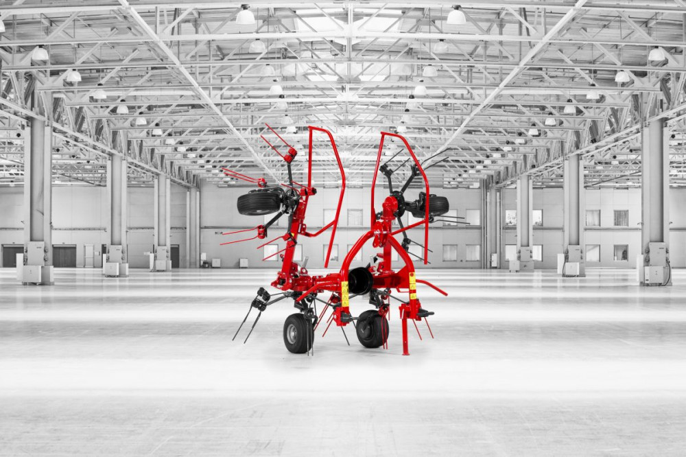 SIP Spider 350/4 ALP - rotacijski okretač
