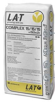 Gnojivo COMPLEX 15/15/15 + 7SO3 + Zn