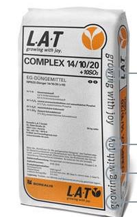 Gnojiva COMPLEX 14/10/20 + 10SO3