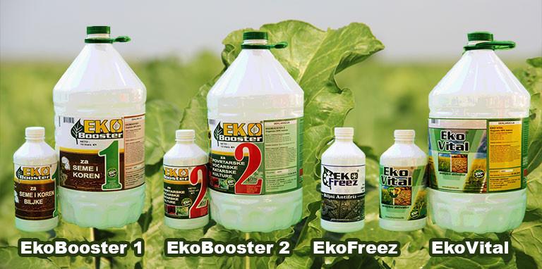Eko Booster 1 i 2,Eko Freez,Eko Vital