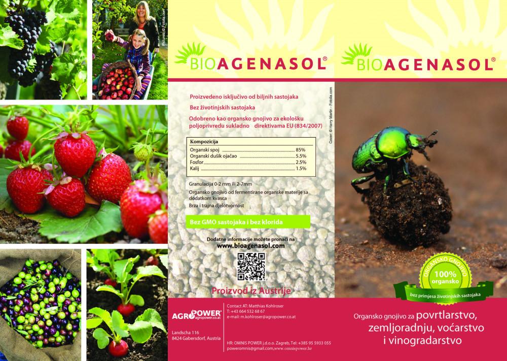 Ekološko gnojivo Bioagenasol