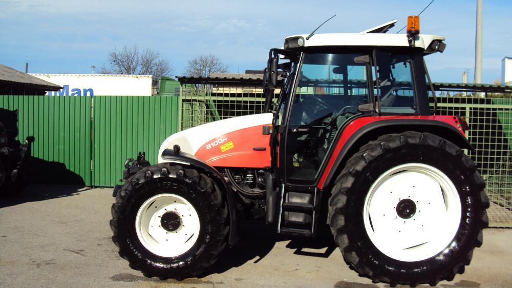 Traktor Steyr profi 9100 M