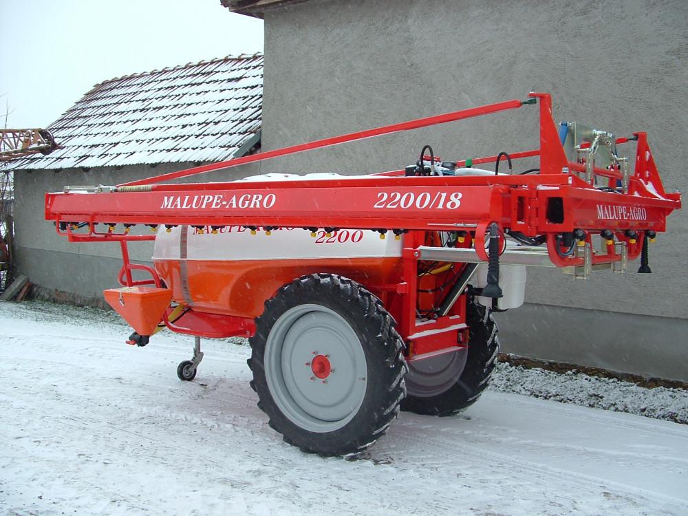 Malupe 2200L/18M prskalica