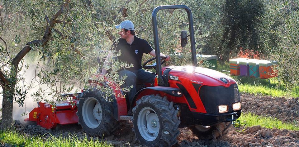 Akcija traktor Antonio Carraro TIGRE 4000 za poslednji traktor sa lagera 2016!!