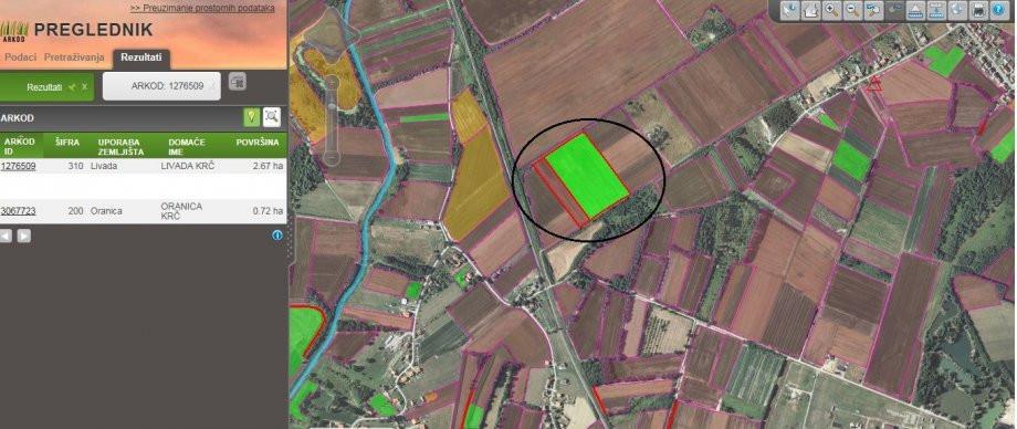 Poljoprivredno zemljište Kloštar Ivanić