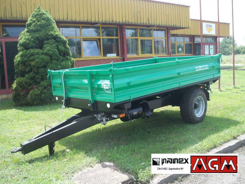 Traktorska prikolica MAJEVICA 4t