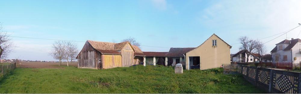 Bjelovar-Ždralovi kuća i poljoprivredno zemljište