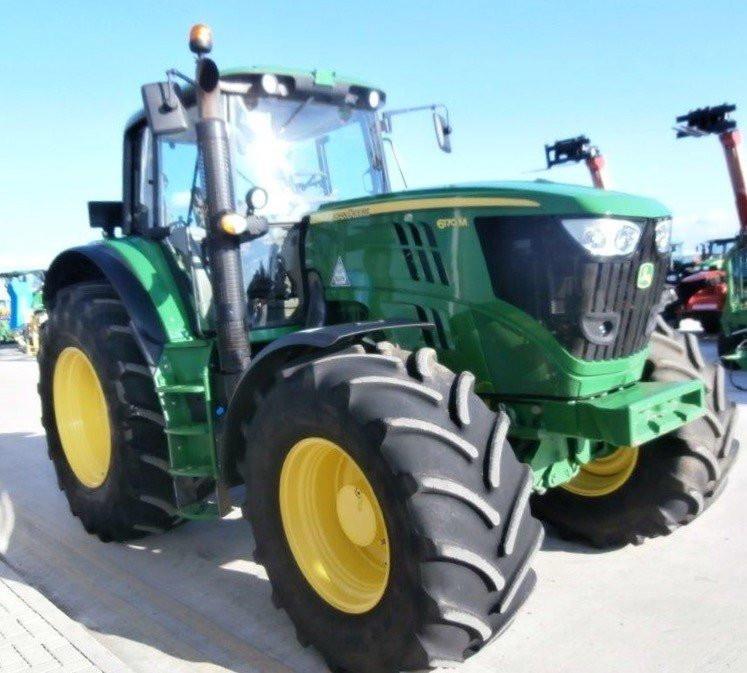 Traktor John Deere 6170 M premium demo