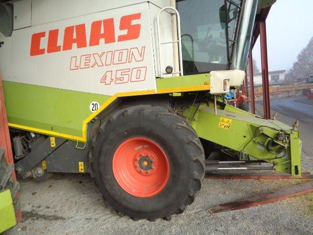 Kombajn Claas Lexion 450