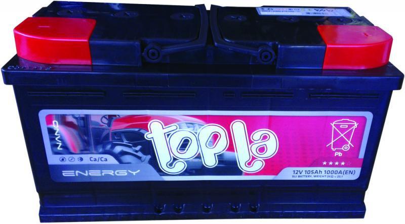 Akumulator TOPLA 12V 105Ah 1000A