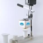 Ručni uređaj za zatvaranje plastičnih čaša Al-poklopcima