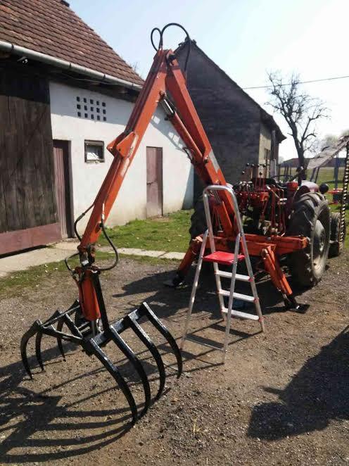 Traktorski utovarivac za gnoj GRAMIP