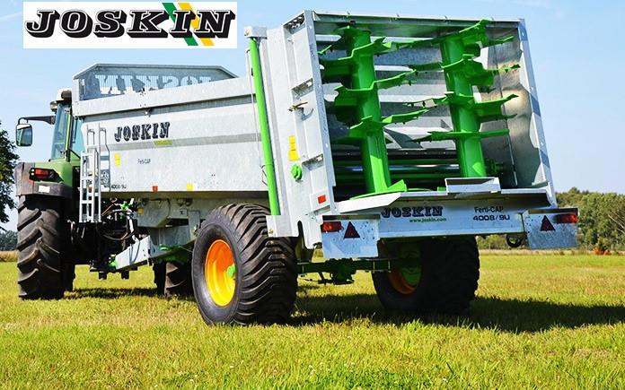 Joskin Ferti Cap 4008/9U razbacivač stajskog gnoja