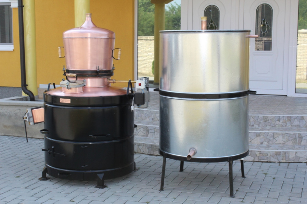 Kazan za rakiju od 120 do 350lit-MODEL EKSKLUZIV