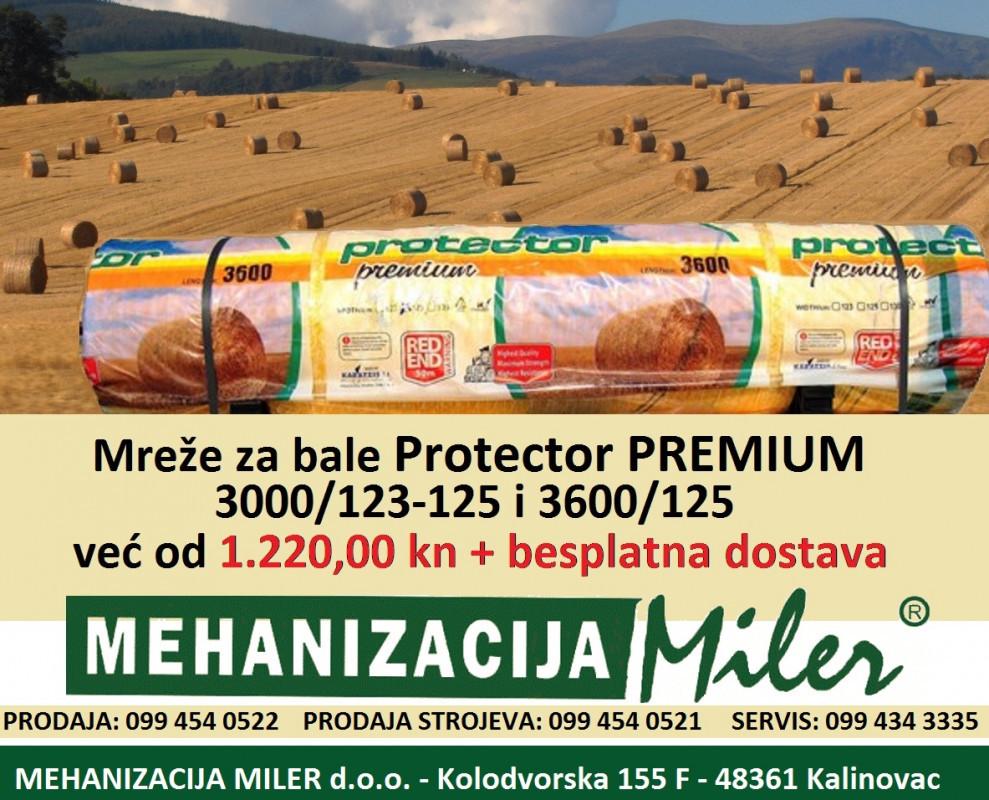 Mreža za baliranje Protector PREMIUM