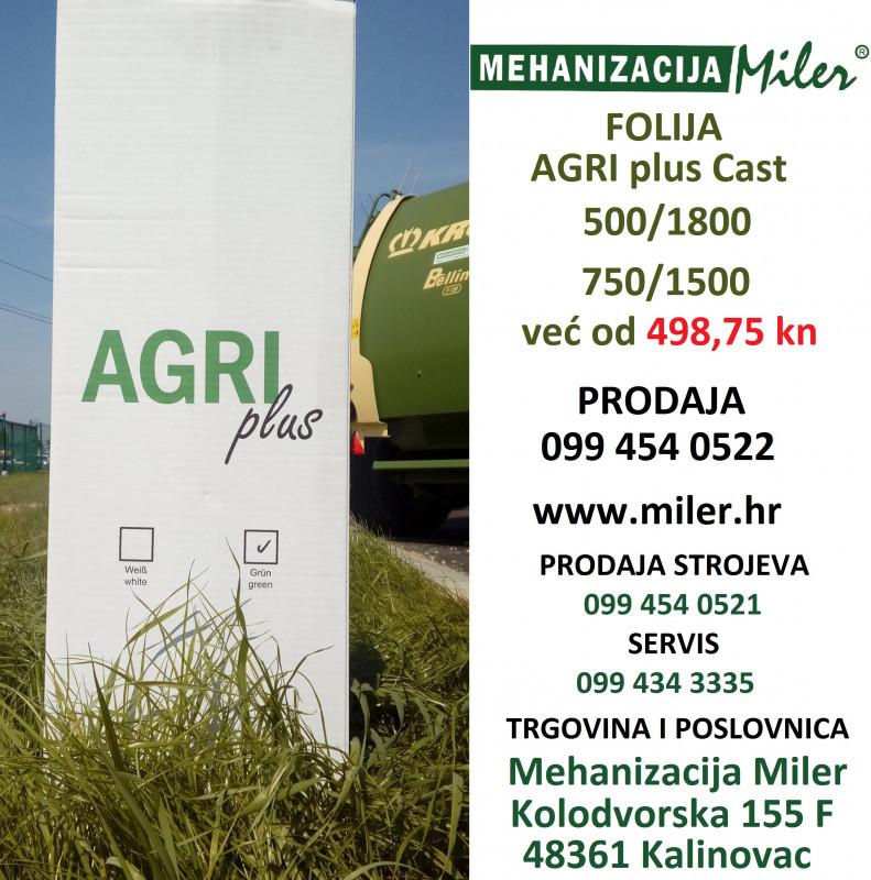 Folija za baliranje AgriPlus Cast