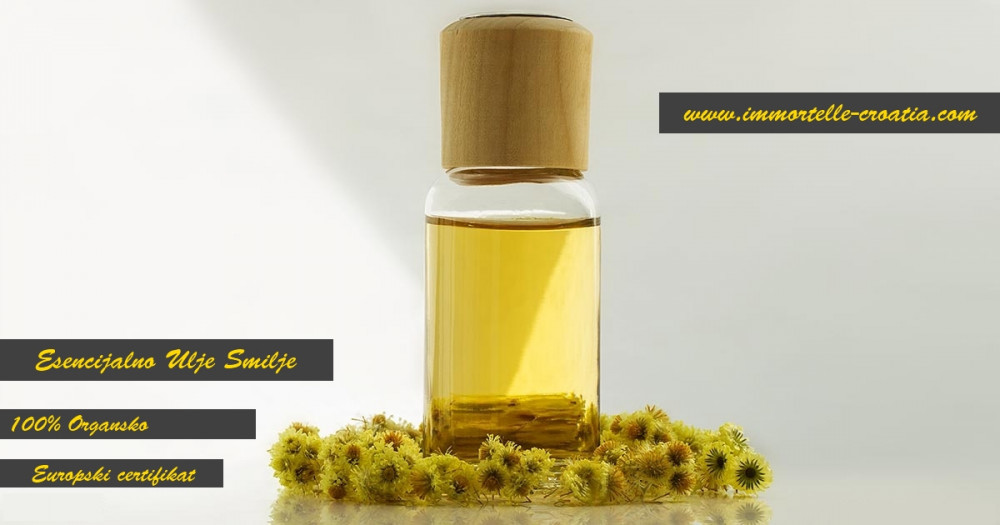 Vrhunsko, eko certficirano ulje dalmatinskog smilja
