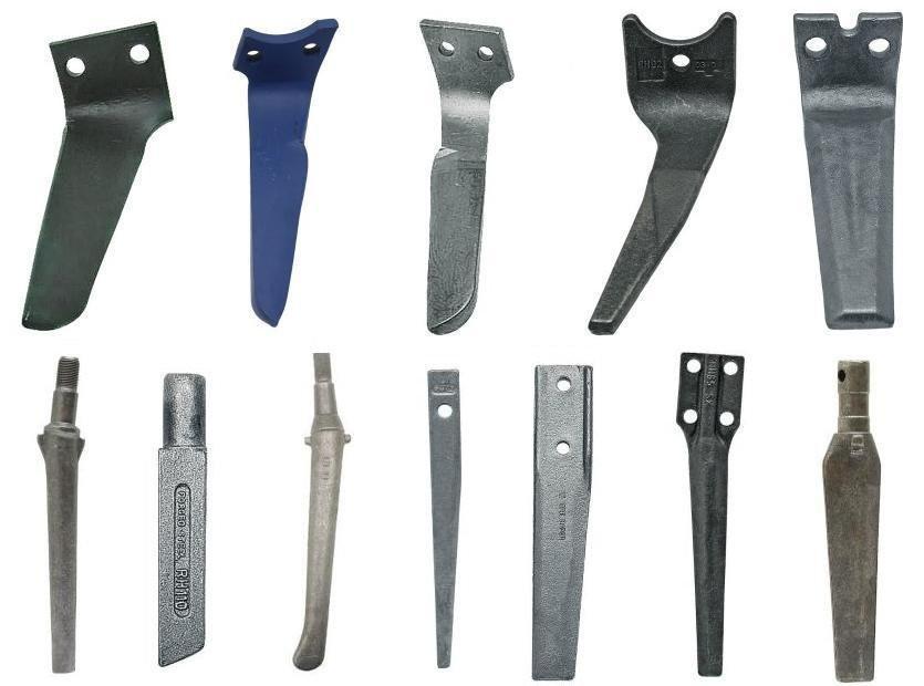 Klinovi i noževi za sve modele rotobrana